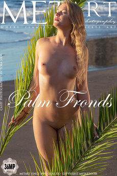 MetArt - Casey - Palm Fronds by Tora Ness