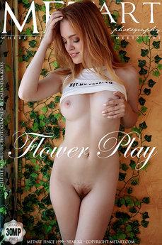 MetArt - Celeste Rasmussen - Flower Play by Cassandra Keyes