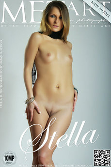 9 MetArt members tagged Stella D and nude photos gallery Presenting Stella 'shy'