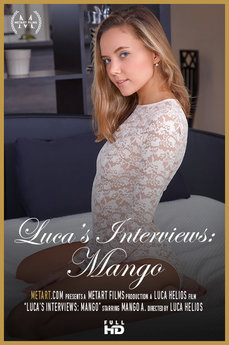Met Art Luca's Interviews: Mango erotic images gallery with MetArt model Mango A