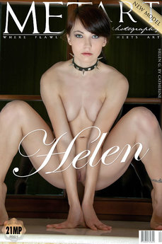 5 MetArt members tagged Helen G and erotic images gallery Presenting Helen 'yoga'
