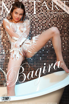 3 MetArt members tagged Bagira B and erotic photos gallery Presenting Bagira 'bathtub'