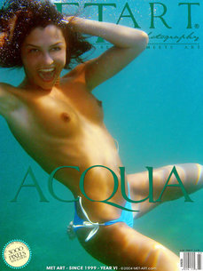 5 MetArt members tagged Sharon E and erotic images gallery Acqua 'underwater'