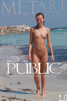 Nude In Public With Jana