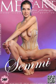 MetArt Semmi A Photo Gallery Presenting Semmi by Goncharov