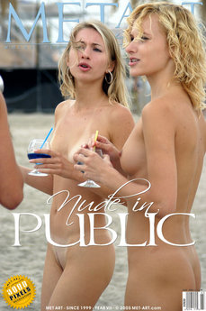 Nude In Public -the Photo Shoot