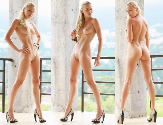 Liza B: Kalaris, by Leonardo, stunning, blonde beauty, erotic art photos