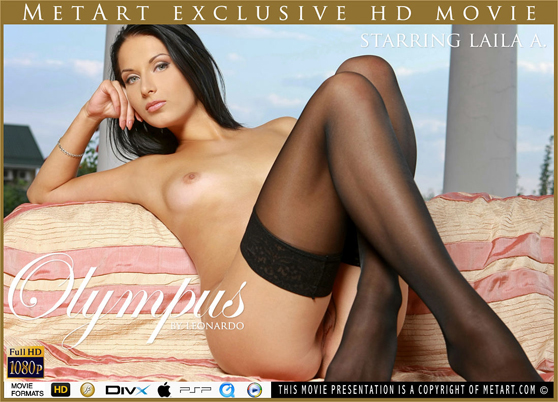 Laila A & Olga M: Olympus, HD video by Leonardo, stylish, erotic movie