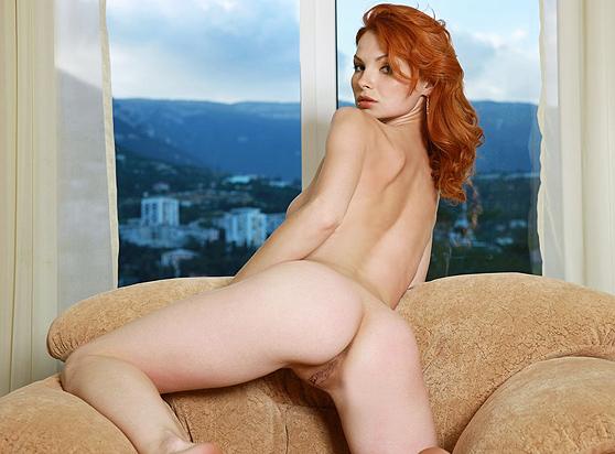 Natalia A: Egadian, by Leonardo, redhead, coquettish, teasing erotica