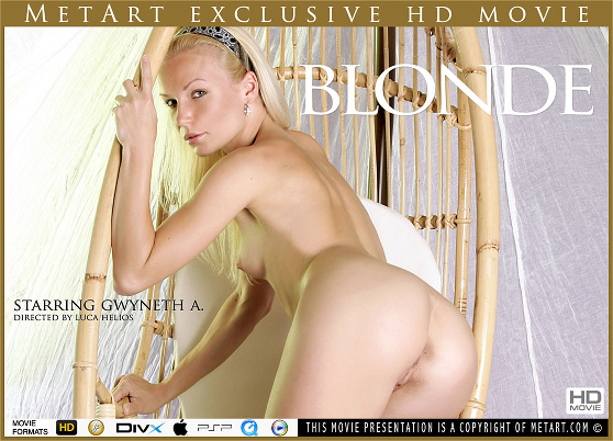 Gwyneth A: Blonde, by Luca Helios, MetArt HD erotic movie review