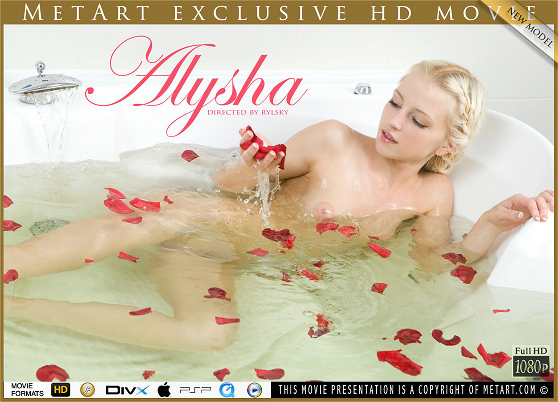 Alysha A: Presenting, by Rylsky, MetArt HD erotic movie review