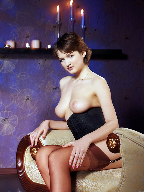 Coco A: Presenting, by Tony Murano, curvy beauty, dramatic erotic pix