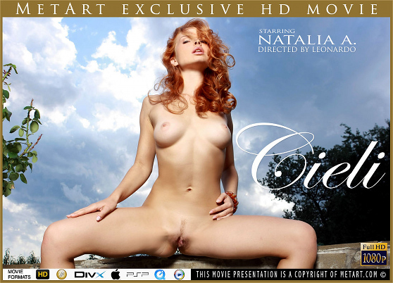 Natalia A: Cieli, by Leonardo, MetArt HD erotic movie review