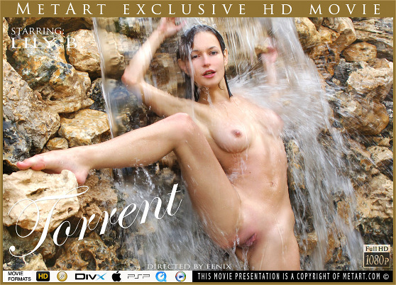 Lily B: Torrent, by Fenix, MetArt HD erotic movie review
