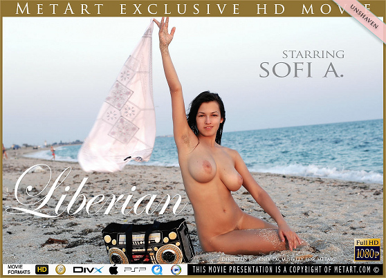 Sofi A: Liberian, by Fenix, MetArt HD erotic movie review