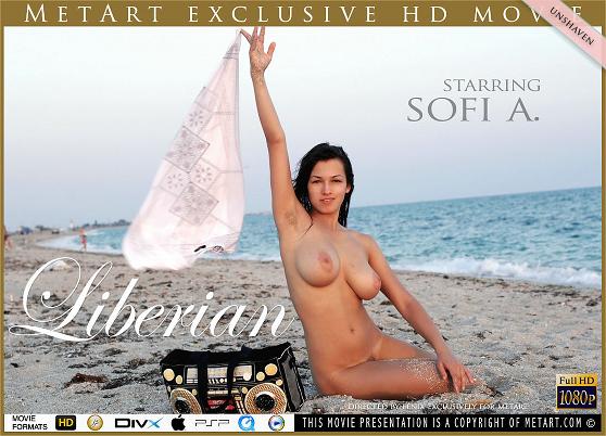 Sofi A: Liberian, by Fenix, MetArt HD erotic movie review