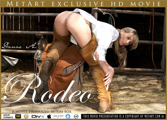 Danae A: Rodeo, by Tim Fox, MetArt HD erotic movie review