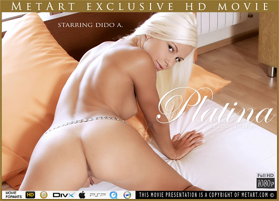 Dido A: Platina, by Luca Helios, MetArt HD erotic movie review
