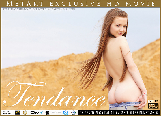 Zhenya C: Tendance, by Dmitry Masloff, MetArt HD erotic movie review