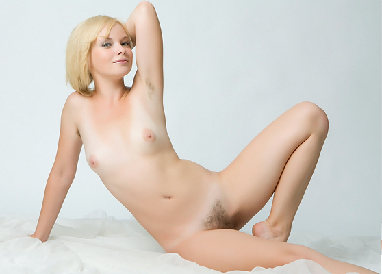 Feeona A: Presenting, by Rylsky, cherubic blonde, beautiful studio pix