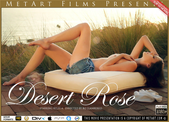 Rilee Marks: Desert Rose, by Bo Llanberris, MetArt HD erotic movie review