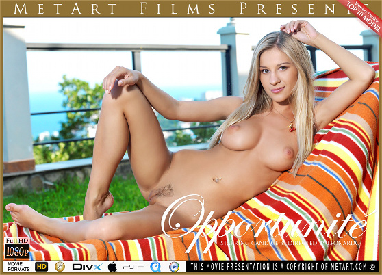 Candice B: Opportunite, by Leonardo, MetArt HD erotic movie review