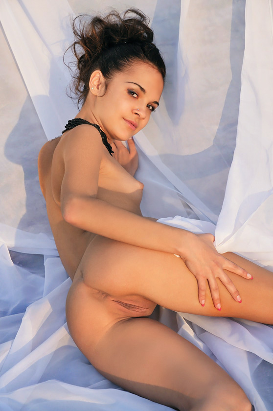 Ralina A: Ventus, by Albert Varin, nude nymphet exposed and explicit
