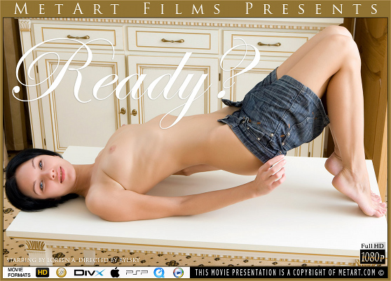 Loreen A: Ready?, by Rylsky, MetArt HD erotic movie review