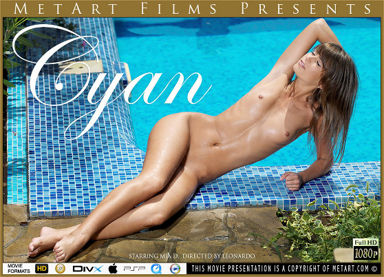 Mia D: Cyan, by Leonardo, MetArt HD erotic movie review