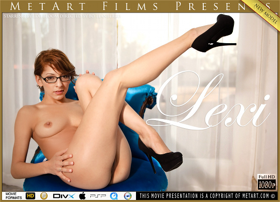 Lexi Bloom: Presenting, by Bo Llanberris, MetArt HD erotic film review
