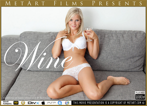 Miela A: Wine, by Koenart, MetArt HD erotic movie
