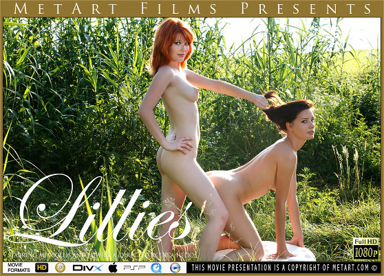 Edwige A & Mia Sollis: Lillies, by Luca Helios, MetArt HD erotic movie