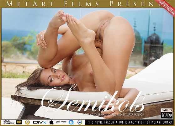Kalena A: Semikols, by Luca Helios, MetArt HD erotic movie