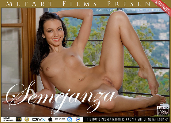 Sapphira A: Samejanza, by Luca Helios, MetArt HD erotic movie