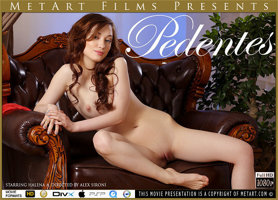 Halena A: Pedentes, by Alex Sironi, MetArt HD erotic movie