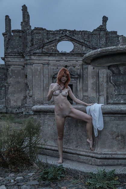 Mia Sollis in a favorite location, 2011, by DeltaGamma