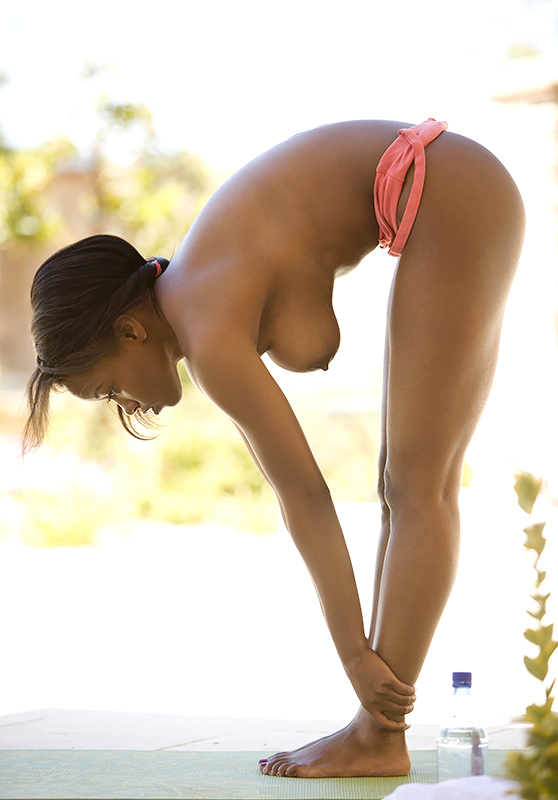 Jezabel Vessir: Presenting, by Charles Lightfoot, hot body/nude yoga